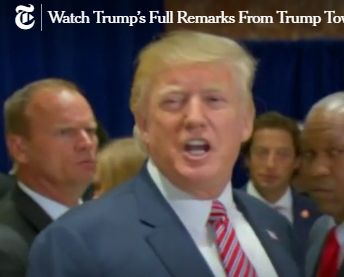 Trump Press Conference screencap 04